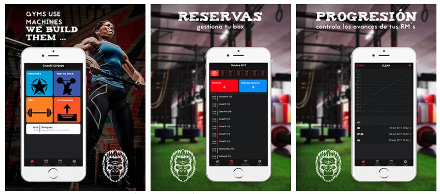 app de reservas