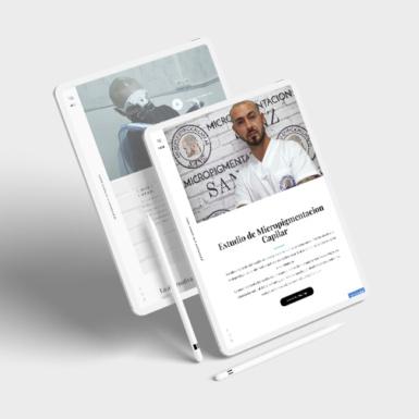 Web Corporativa desarrollada en Wordpress